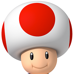Super Mario Brothers Toad Coloring Pages Mushroom Free