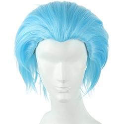 Rick's Blue Hair